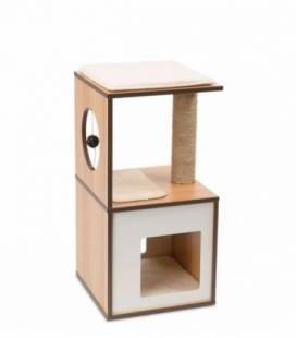 Mueble Rascador para Gatos V-Box Vesper