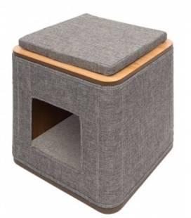 Mueble rascador Vesper Cubo y Vesper Tower