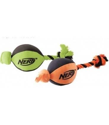 Pelota de rugby con lanzador Nerf