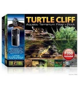 Filtro y Roca para Tortuga Turtle Cliff EXO TERRA