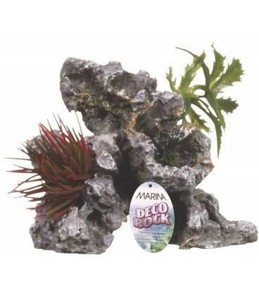 Ornamento Deco Rock con Plantas MARINA
