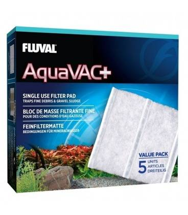FLUVAL AQUAVAC + ALMOHADILLA RECAMBIO 5 pc