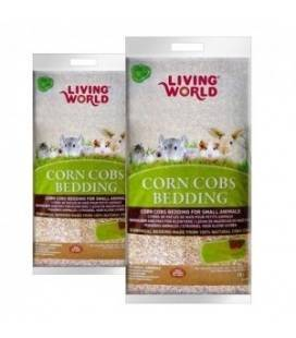 Lecho Sanitario de Mazorca Corn Cobs LIVING WORLD