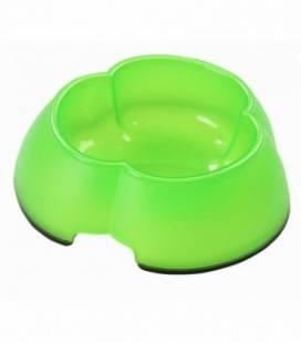 Pawise Comedero Bebedero Trébol de plástico Anti Deslizante