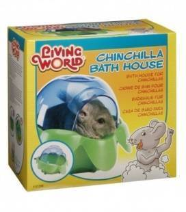 Bañera para Chinchilla LIVING WORLD