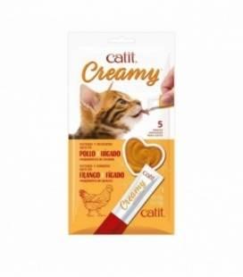 Catit Creamy Snack Cremoso Pack de 5