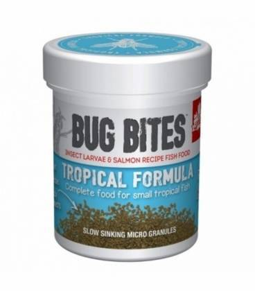 Fluval Bug Bites Gránulos Formula Tropical