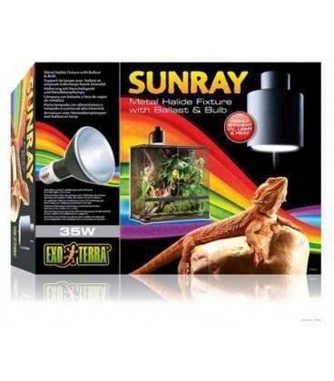 Sistema Completo Iluminación Sunray EXO TERRA