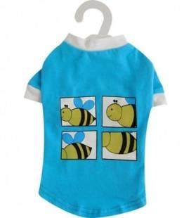 Camiseta Azul Abeja DOGIT
