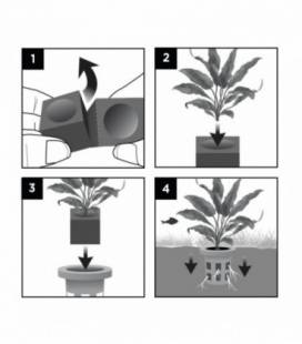 Fluval Plant Cestas Plantado Facíl 5Pc