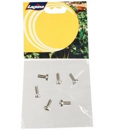 Tornillos 6 Pc Repuesto para la Tapa Filtro Pressure Flo LAGUNA